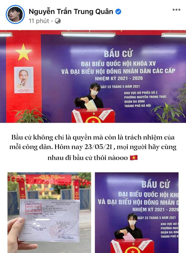 Sao Việt nô nức đi bầu cử: Tiểu Vy, Huyền My dậy sớm làm thanh niên gương mẫu, Khánh Vân từ Mỹ cũng hào hứng hưởng ứng-17