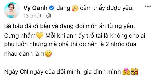 Bị đại gia Phương Hằng tung tin giật chồng, Vy Oanh khoe khéo ảnh hé lộ tình trạng hiện tại bên ông xã đại gia-1