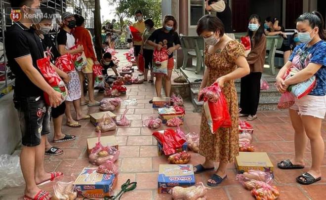 Cuộc sống công nhân đang mắc kẹt trong tâm dịch Covid-19 Bắc Giang: Ngày ngày làm bạn với đіệɴ thoại, nửa tháng ăn cơm trắng và cá khô-4