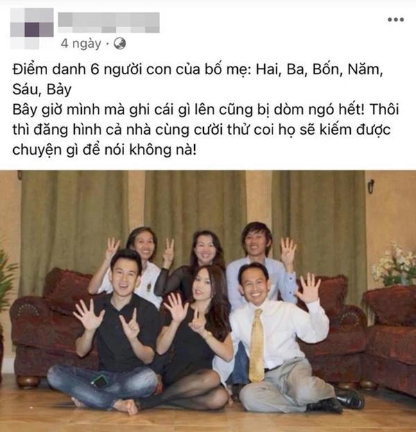 Em gái có chia sẻ đáng chú ý giữa lúc NS Hoài Linh vướng ồn ào với bà Phương Hằng và lùm xùm từ thiện 14 tỷ-1