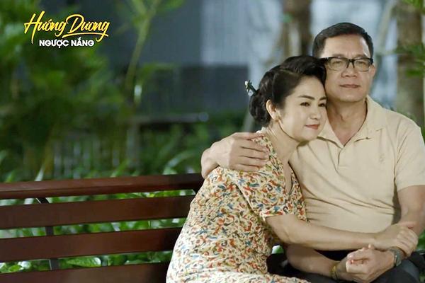 NSND Thu Hà nói về nụ hôn ngoài kịch bản với NSƯT Phạm Cường-2