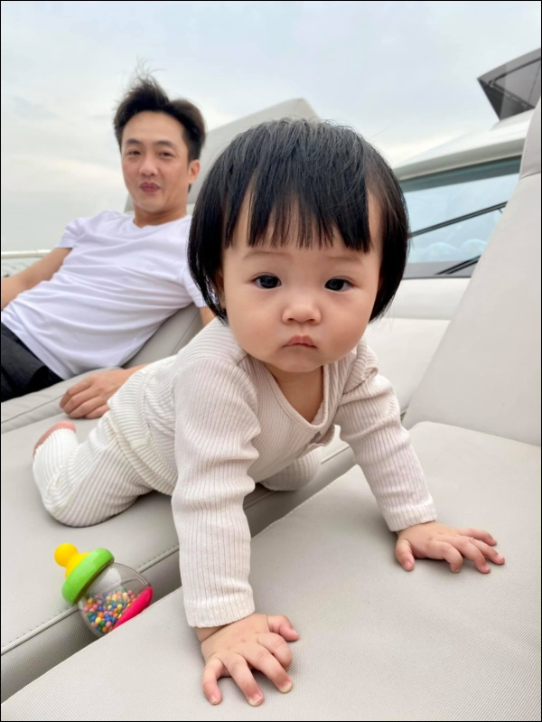 Được cưng chiều hết mực, công chúa Suchin nhà Cường Đô La vẫn sớm được dạy cho tính tự lập, nhiều mẹ cũng đang áp dụng cho con-4