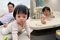 Được cưng chiều hết mực, công chúa Suchin nhà Cường Đô La vẫn sớm được dạy cho tính tự lập, nhiều mẹ cũng đang áp dụng cho con