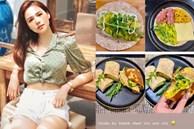 Làm dâu hào mônPhanh Lee vẫn đích thân vào bếp nấu ăn, xem ra ngày càng đảm đang lại chịu khó bày biện đẹp mắt