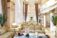 Bên trong biệt thự dát vàng của đại gia Phương Hằng: Ảnh thật không đẹp như thiết kế, nhìn u tối và kém sang vài phần