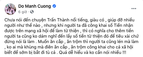 Phản ứng của sao Việt khi Trấn Thành không chuyển 4,7 tỷ từ thiện cho Thủy Tiên-4