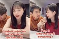 Huỳnh Anh bị bắt gặp đi siêu thị với bồ tin đồn, couple còn đang ở cùng khu chung cư với Quang Hải?