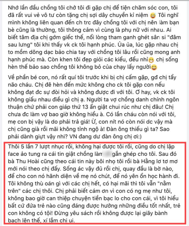 Vy Oanh lên tiếng căng đét trước tin đồn lộ ảnh sex, gọi thẳng tên vợ cũ của ông xã đại gia, Hoa hậu Thu Hoài và bà Hằng đối chất-3