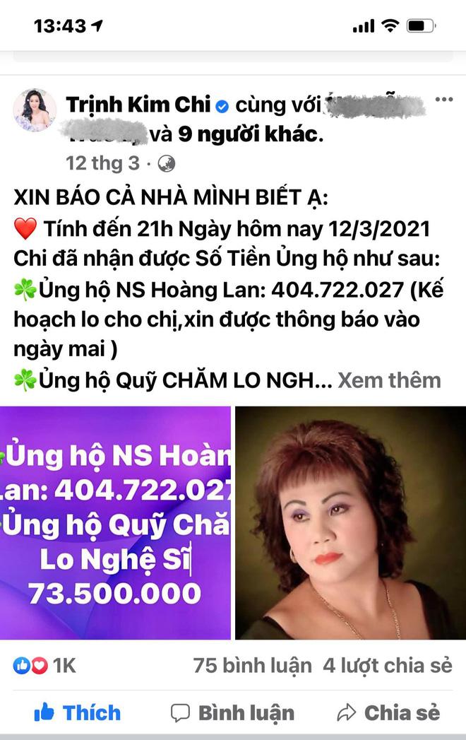 """NS Trịnh Kim Chi lên tiếng khi bị tố dàn dựng bệnh tình của NS Thương Tín để kêu gọi từ thiện: Đừng tàn nhẫn với chúng tôi như vậy""""-5"""