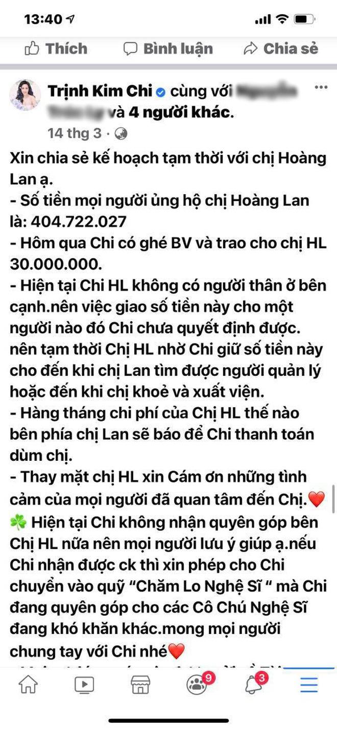 """NS Trịnh Kim Chi lên tiếng khi bị tố dàn dựng bệnh tình của NS Thương Tín để kêu gọi từ thiện: Đừng tàn nhẫn với chúng tôi như vậy""""-6"""