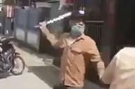 Xác định danh tính, ráo riết truy bắt 2 thanh niên tay kiếm tay dao liên tục dọa chém CSGT ở Hà Tĩnh