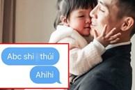 Mới đi sang UAE được mấy hôm, Bùi Tiến Dũng bất ngờ khoe được con gái 7 tháng tuổi nhắn tin 'hỏi thăm sức khỏe' theo cách bất ngờ