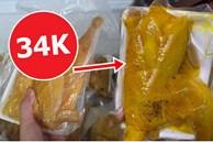 Chợ mạng 'bạt ngàn' gà ủ muối hoa tiêu giá siêu rẻ chỉ 34k/nửa con