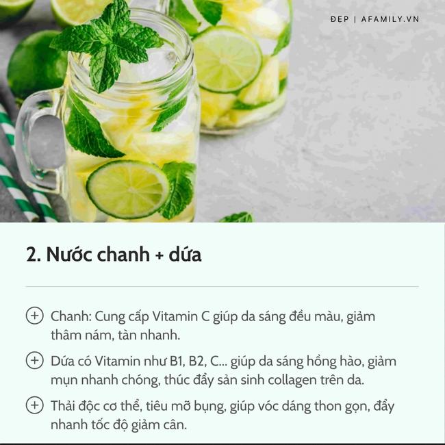 7 loại nước chanh detox tốt nhất: Giúp da dẻ trắng mịn, bụng gọn eo thon chẳng gợn mỡ thừa-4