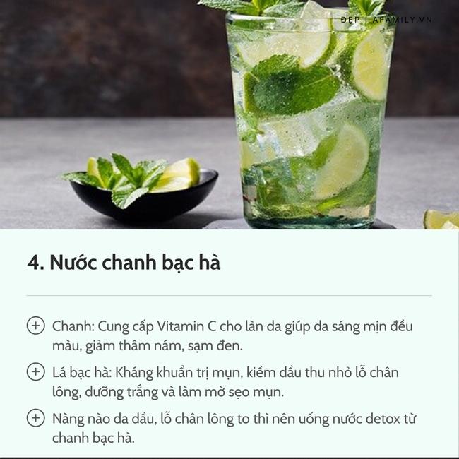 7 loại nước chanh detox tốt nhất: Giúp da dẻ trắng mịn, bụng gọn eo thon chẳng gợn mỡ thừa-6