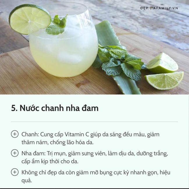 7 loại nước chanh detox tốt nhất: Giúp da dẻ trắng mịn, bụng gọn eo thon chẳng gợn mỡ thừa-7