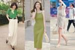 Street style Châu Á: Loạt quý cô khoe dáng với quần cạp cao nhưng vẫn có pha mặc lỗi-16