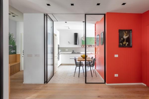 Trang trí nội thất cho gia đình thêm sống động với màu sắc tươi sáng, nhìn tưởng rối mắt mà vẫn sang trọng và cao cấp-10