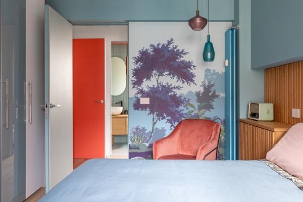 Trang trí nội thất cho gia đình thêm sống động với màu sắc tươi sáng, nhìn tưởng rối mắt mà vẫn sang trọng và cao cấp-16