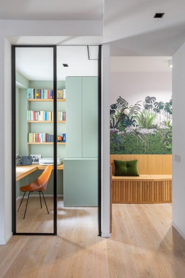 Trang trí nội thất cho gia đình thêm sống động với màu sắc tươi sáng, nhìn tưởng rối mắt mà vẫn sang trọng và cao cấp-21