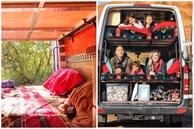 Cặp vợ chồng mê xê dịch hô biến chiếc xe tải thành không gian sống 'di động' cho 5 người du lịch quanh châu Âu