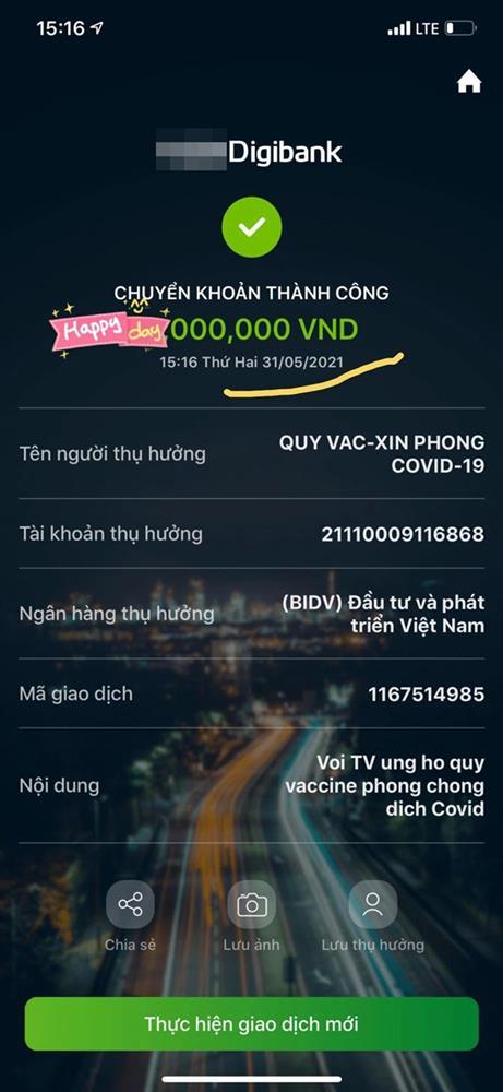 """Bị nghi dùng sao kê fake"""" để làm màu chuyện từ thiện, Vy Oanh đưa luôn bằng chứng tự giải oan""""-3"""