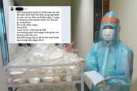 Người phụ nữ than phiền nhân viên khu cách ly đưa cơm muộn cho mình: Những dòng tin nhắn khiến số đông bức xúc