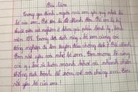 Bài văn tiểu học tả bố đang đi chống dịch ở Bắc Ninh khiến dân mạng rưng rưng: Nhanh chiến thắng dịch bệnh để sớm về với chúng con!