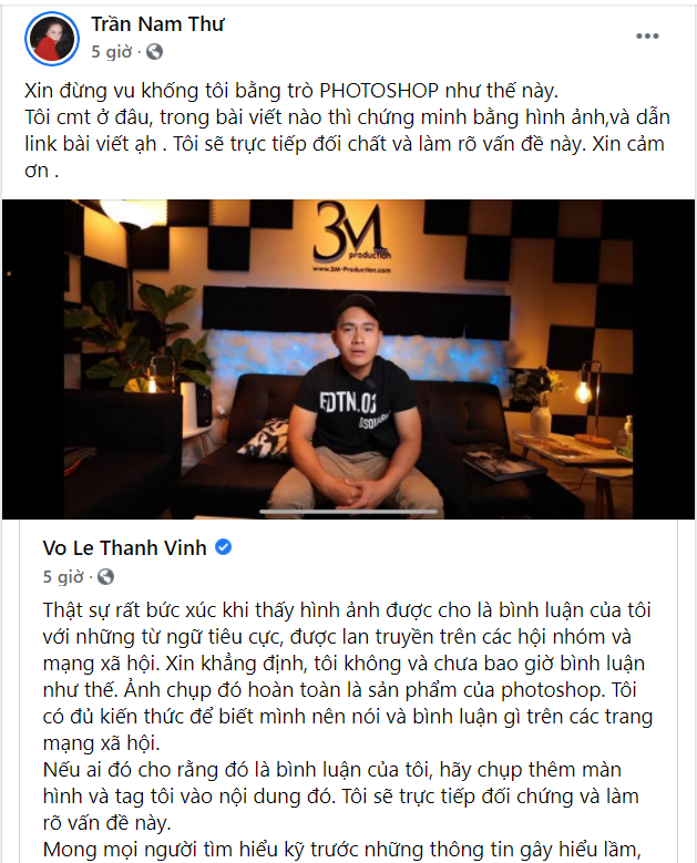 Nam Thư sẵn sàng đối chất về hình ảnh bình luận với con trai Hoài Linh mắng khán giả vô ơn-1