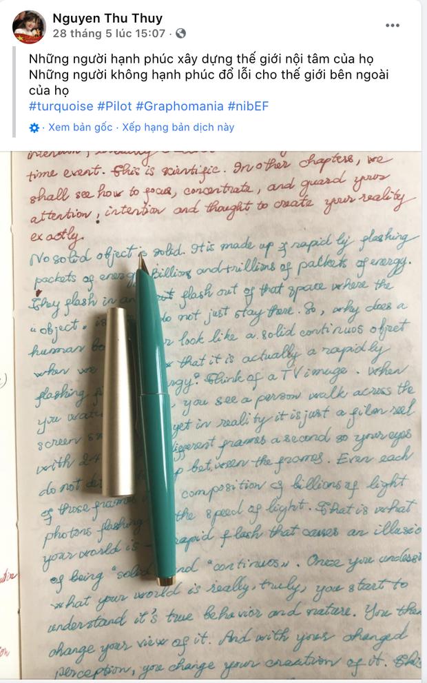 Bài đăng cuối cùng của Hoa hậu Thu Thuỷ trước khi qua đời: Từ tâm thư ẩn ý đến chia sẻ đầy tích cực khiến công chúng xót xa!-2