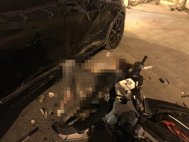 Ô tô BMW X7 đi lùi tông tử vong nam thanh niên chạy xe máy-2
