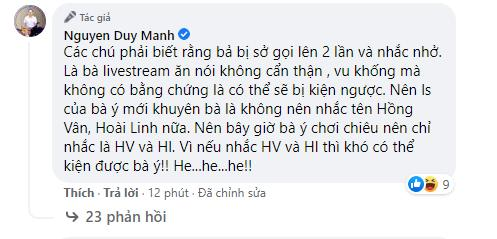 Bị bà Phương Hằng tuyên bố 'lột trần', Duy Mạnh phản ứng gay gắt, dùng từ ngữ thô tục gây choáng-5