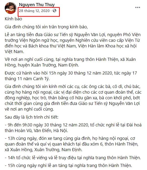 Đau lòng trước tình cảnh Hoa hậu Nguyễn Thu Thủy qua đời chỉ sau 5 tháng bố ruột mất-1