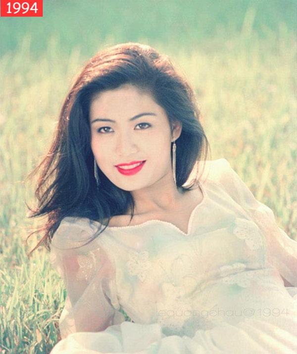 Nuối tiếc khi nhìn lại nhan sắc rực rỡ của Nguyễn Thu Thủy lúc đăng quang Hoa hậu Việt Nam năm 18 tuổi-6