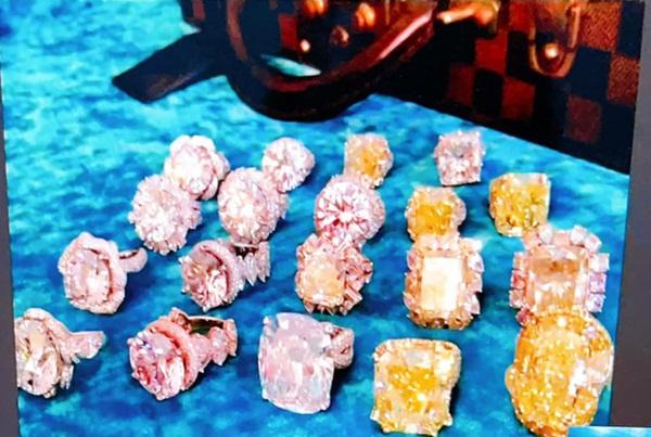 Cận cảnh BST kim cương hột mít sau này sẽ được bán hết để làm từ thiện của bà Phương Hằng-2