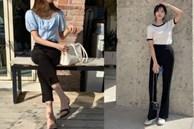 Gái Hàn chuyên diện quần đen đơn giản nhưng luôn đạt điểm 10 sành điệu nhờ loạt cách mix 'cao tay'