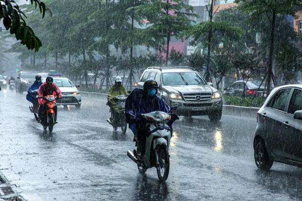 Cảnh báo: Miền Bắc đón mưa to đến rất to từ chiều tối nay-1