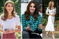 Công nương Kate hay diện đồ đứng dáng quá hóa 'dừ', nhưng khi mặc 5 items này thì trông tươi trẻ hẳn ra