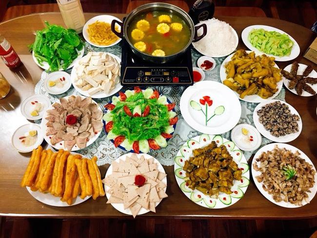 Đã mắt với loạt bữa ăn cuối tuần thịnh soạn như mâm cỗ của nữ bác sĩ viện Nhi-4