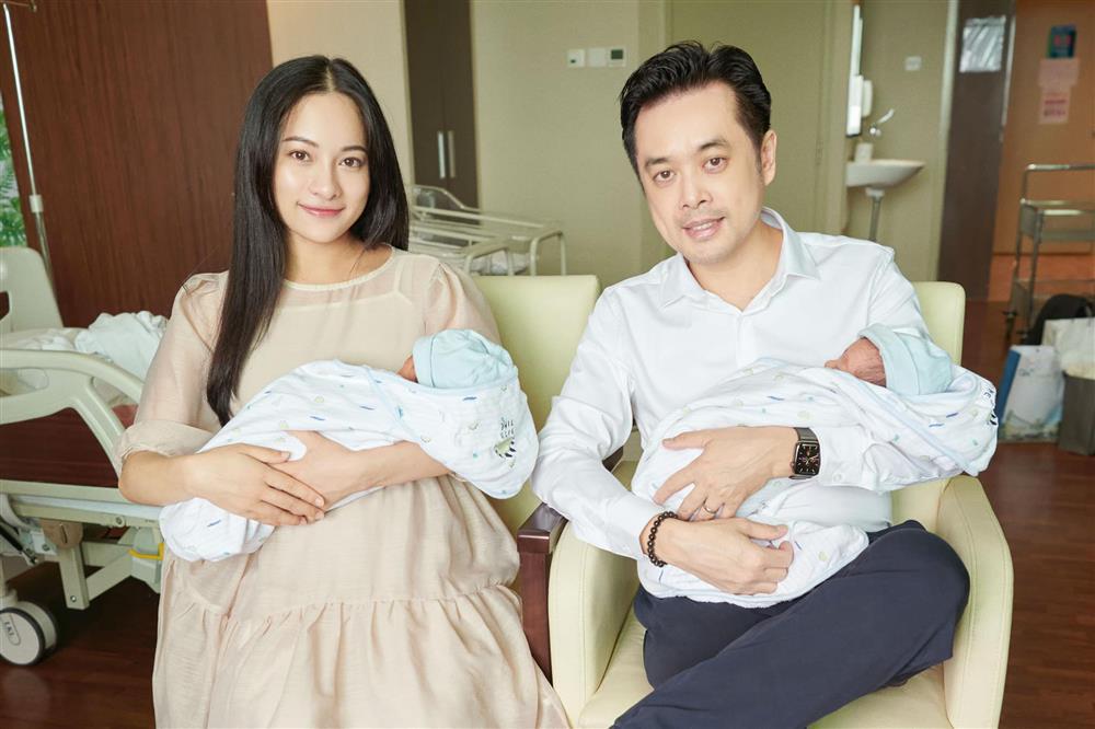 Được bác sĩ chọn ngày yêu giúp, vợ chồng nhạc sĩ Dương Khắc Linh chỉ việc làm theo, đậu luôn thai đôi-9