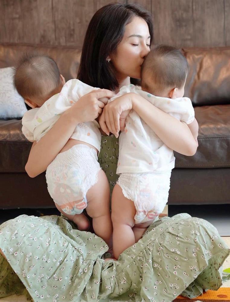 Được bác sĩ chọn ngày yêu giúp, vợ chồng nhạc sĩ Dương Khắc Linh chỉ việc làm theo, đậu luôn thai đôi-12