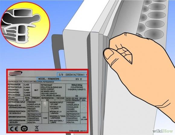 Cách thay thế gioăng cao su tủ lạnh giúp bạn tiết kiệm tiền điện hiệu quả trong ngày hè-2