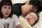 Tưng tửng là vậy nhưng An Nguy chăm con rất khéo, bé Bay 3 tháng tuổi đã ăn ngủ đâu vào đấy-7
