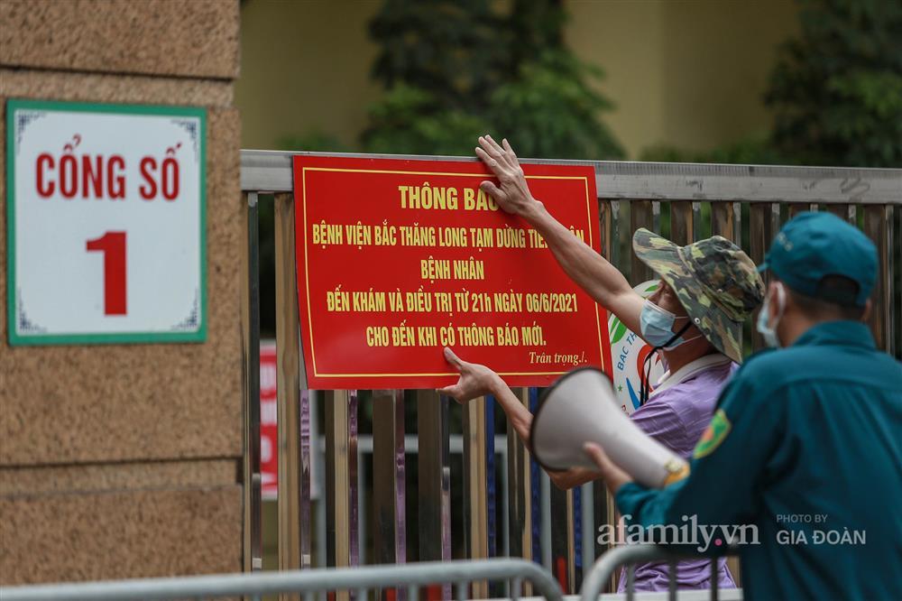 BV Bắc Thăng Long tạm phong tỏa, dừng tiếp nhận bệnh nhân vì người phụ nữ bán rau dương tính SARS-CoV-2 từng đến khám-10