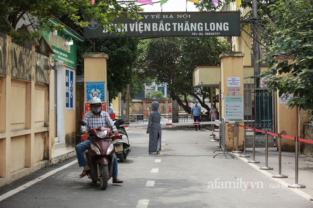 BV Bắc Thăng Long tạm phong tỏa, dừng tiếp nhận bệnh nhân vì người phụ nữ bán rau dương tính SARS-CoV-2 từng đến khám-6