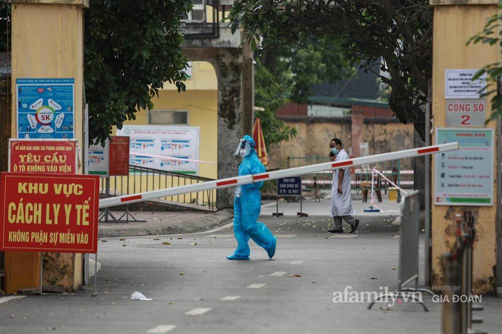 BV Bắc Thăng Long tạm phong tỏa, dừng tiếp nhận bệnh nhân vì người phụ nữ bán rau dương tính SARS-CoV-2 từng đến khám-7
