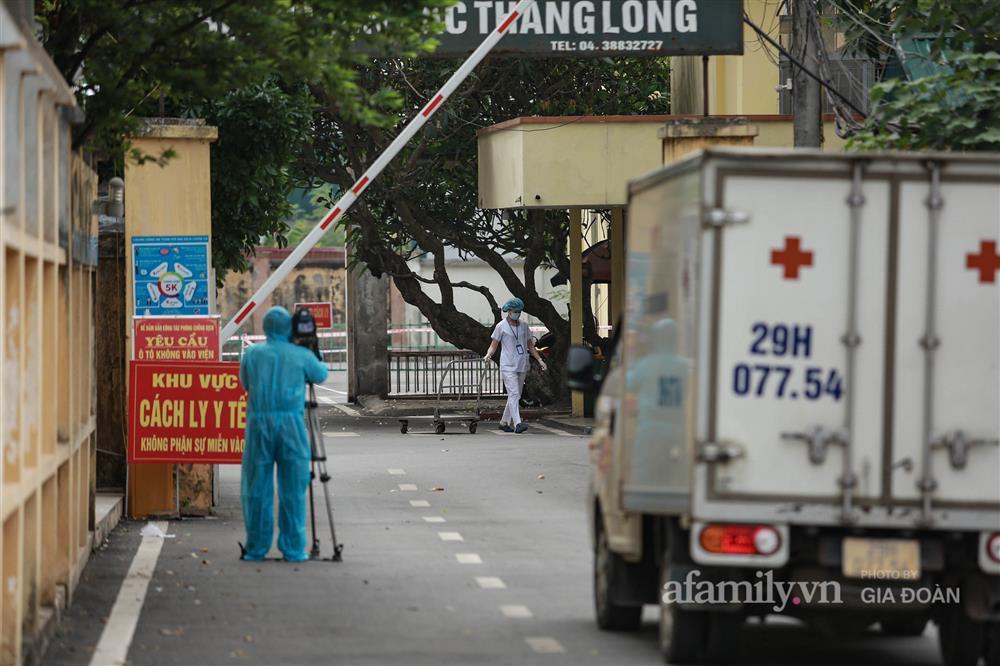BV Bắc Thăng Long tạm phong tỏa, dừng tiếp nhận bệnh nhân vì người phụ nữ bán rau dương tính SARS-CoV-2 từng đến khám-9