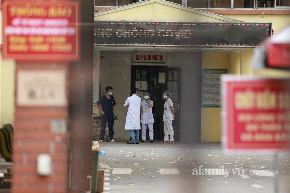 BV Bắc Thăng Long tạm phong tỏa, dừng tiếp nhận bệnh nhân vì người phụ nữ bán rau dương tính SARS-CoV-2 từng đến khám-11