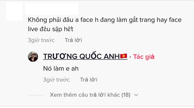 TikToker Trương Quốc Anh tố bị fan NS Hoài Linh chơi xấu, đánh sập livestream của mình?-4