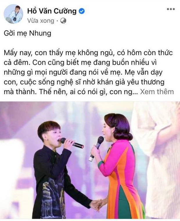 Hồ Văn Cường viết tâm thư gửi Phi Nhung giữa tin đồn bóc lột con nuôi, làm rõ lý do từng xích mích căng thẳng-1